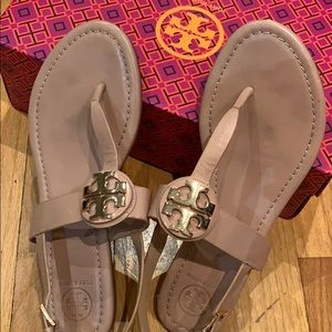 Tory Burch nude sandals size 8